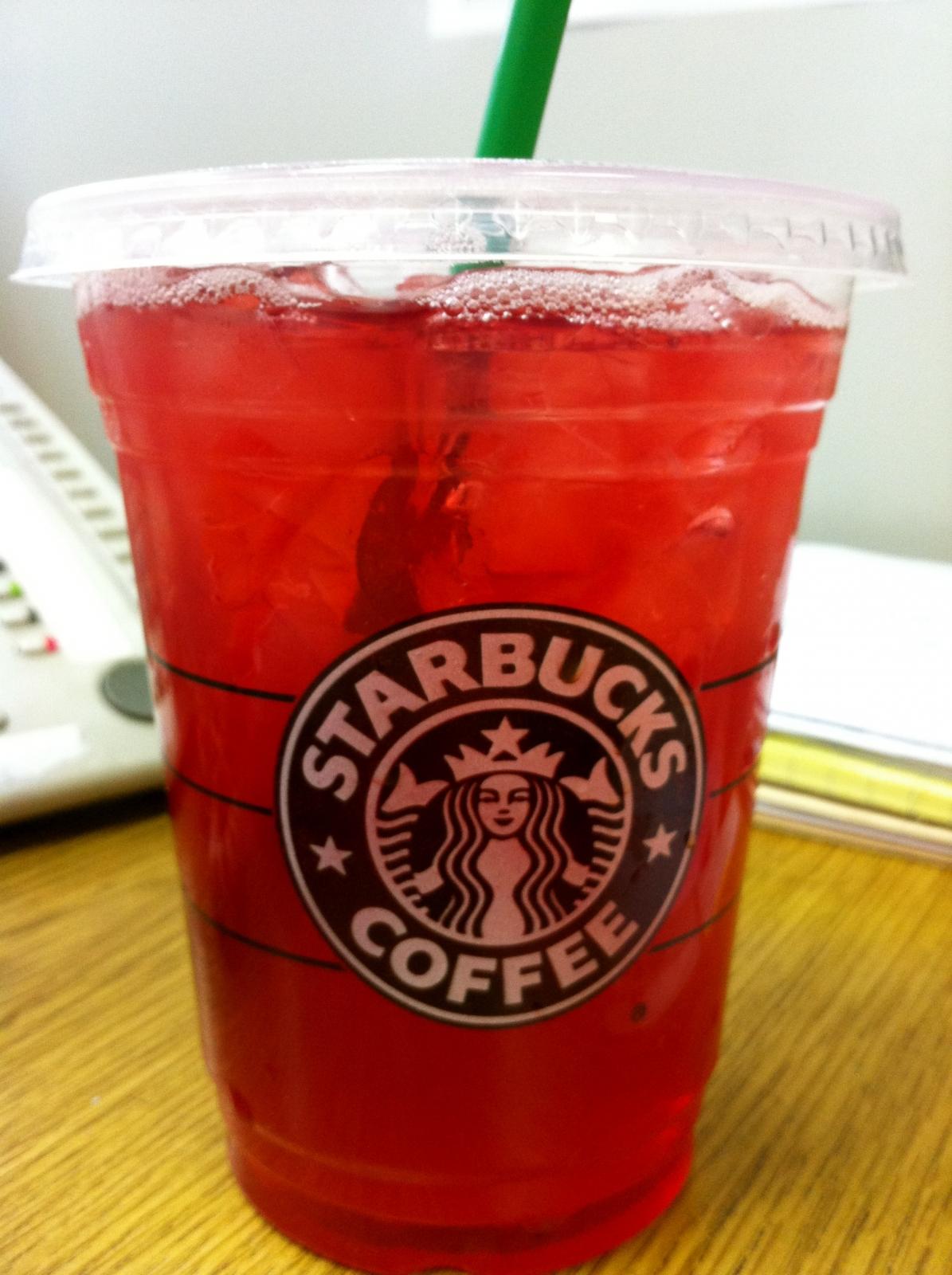 Best Iced Tea Drinks At Starbucks